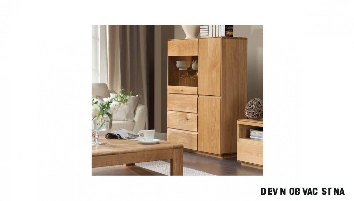 Dřevěná obývací stěna - Nábytek Mirek