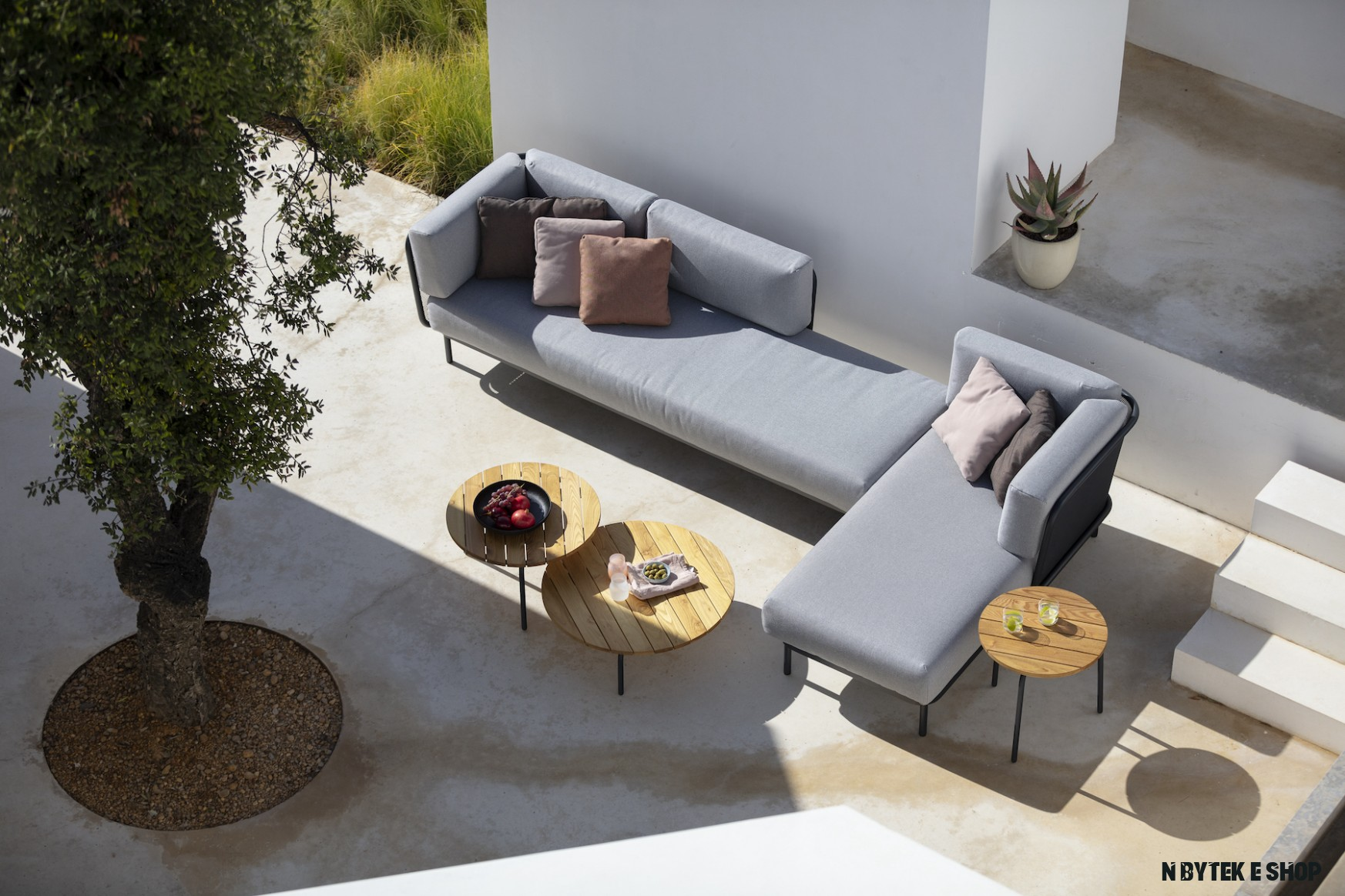 Luxusní hliníkový zahradní nábytek  Sun System