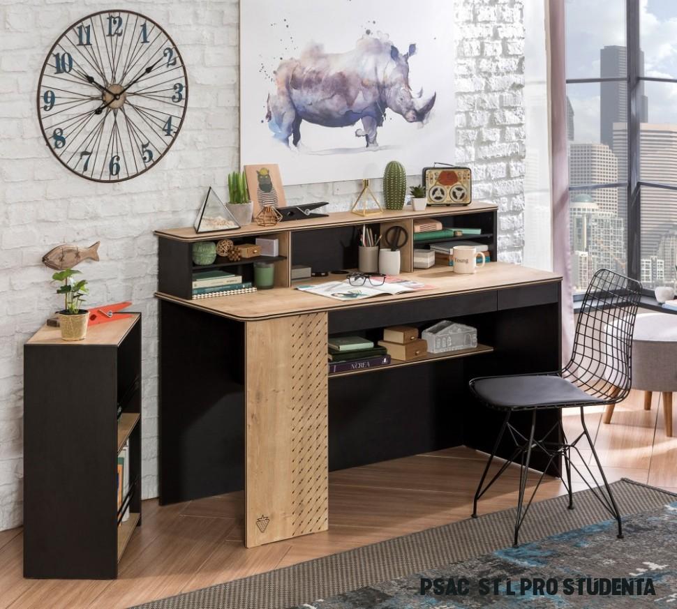Psací stůl a židle pro školáka - Hezký dětský nábytek