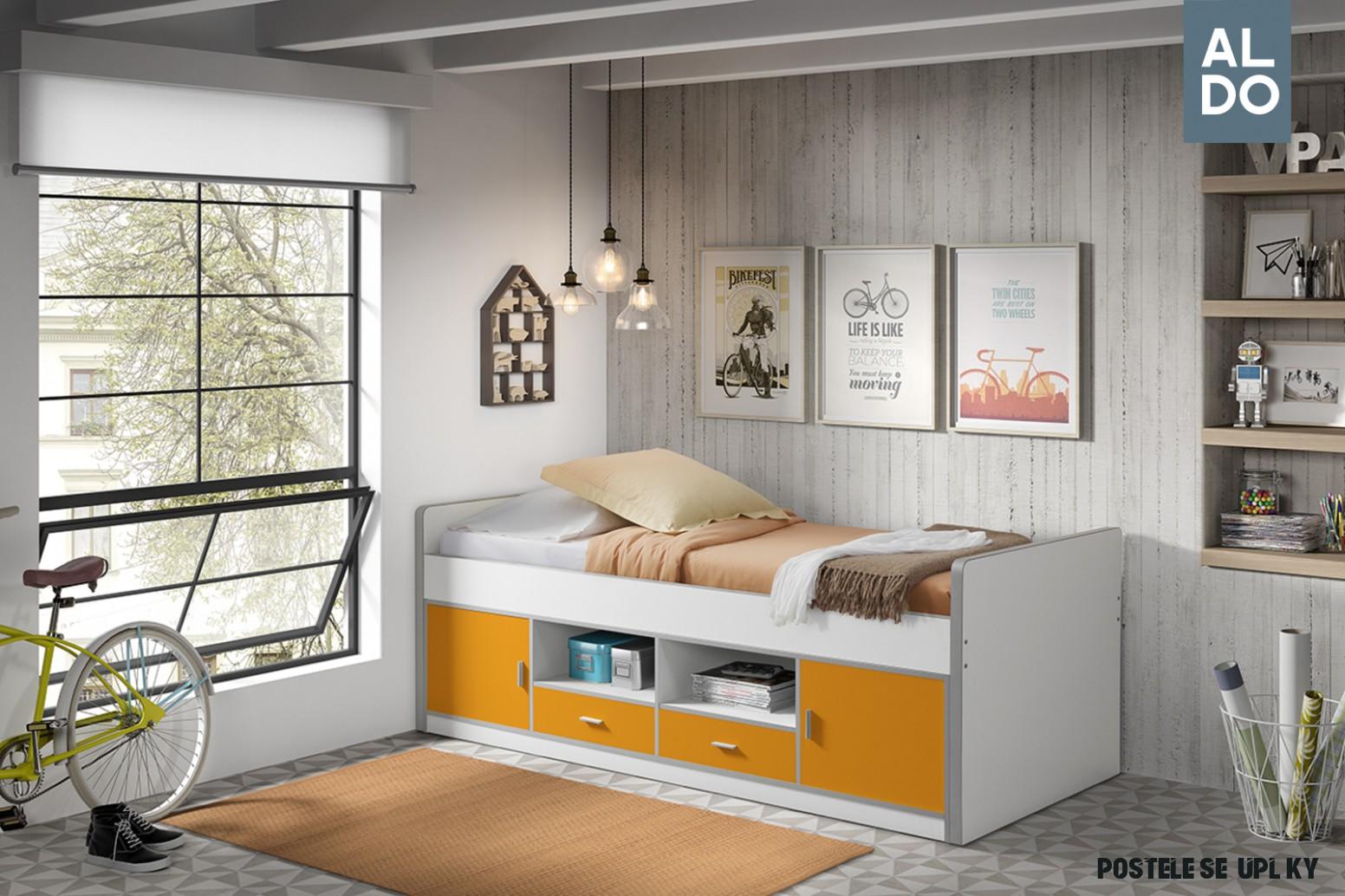 Dětská postel s šuplíky Bonny BOKB8-8