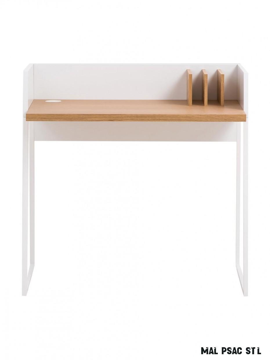 Malý psací stůl s policí Camille