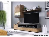 Nejlepší Príklad Inspirace z Dřevěná Obývací Stěna