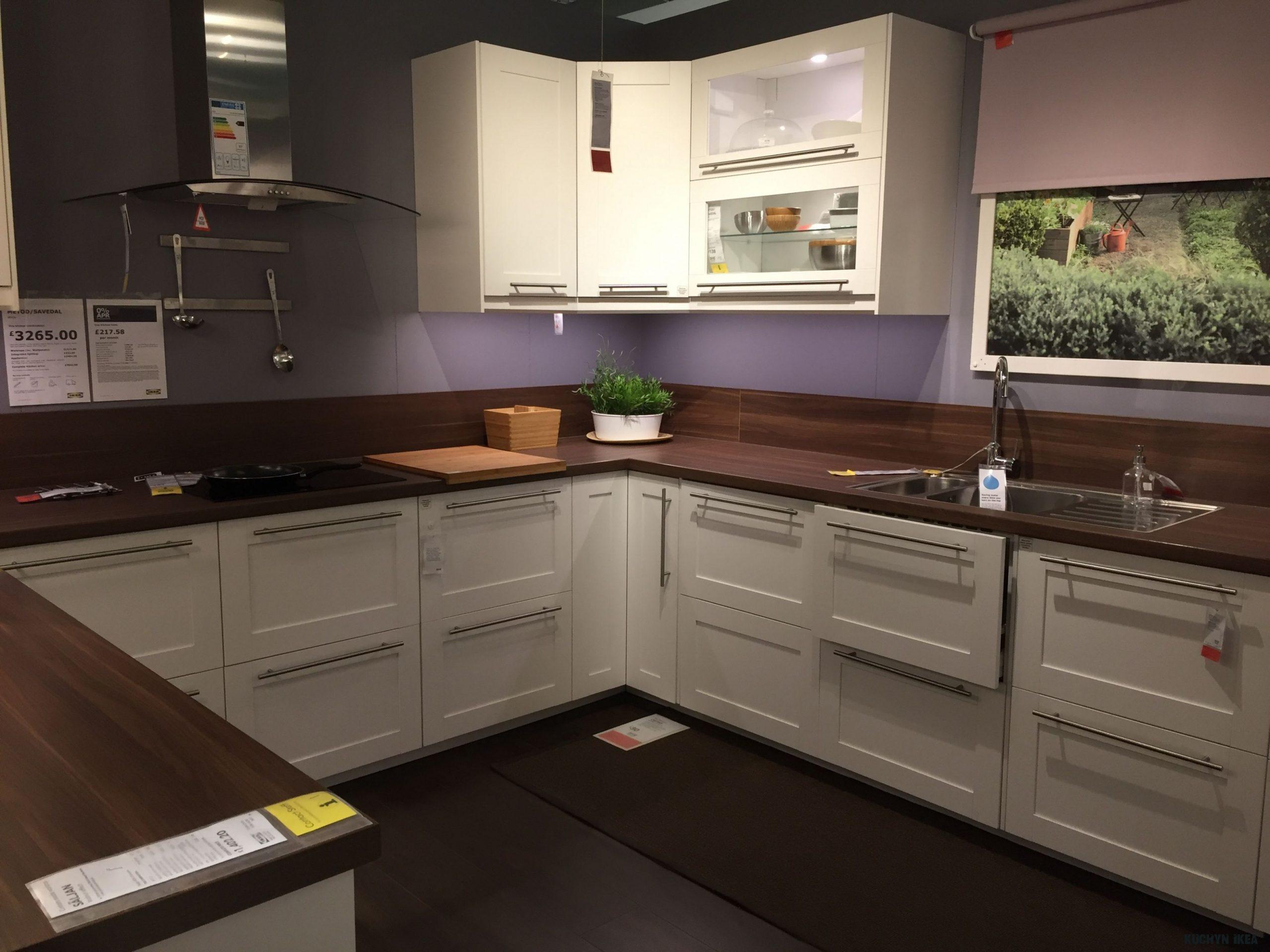 Ikea metod/ savedal kitchen  Cucine piccole, Arredamento, Cucine