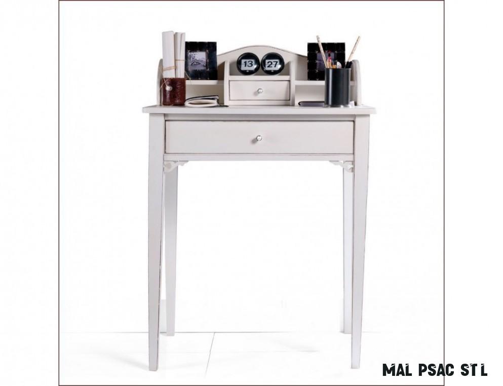 Dámský psací stolek s šuplíky v romantickém stylu