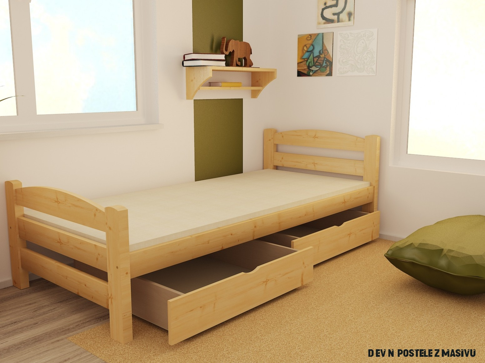Nápady pro Dřevěné Postele Z Masivu