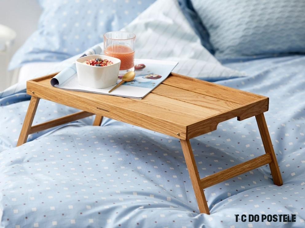 Servírovací tác na Snídaně do postele 10x10x10 cm