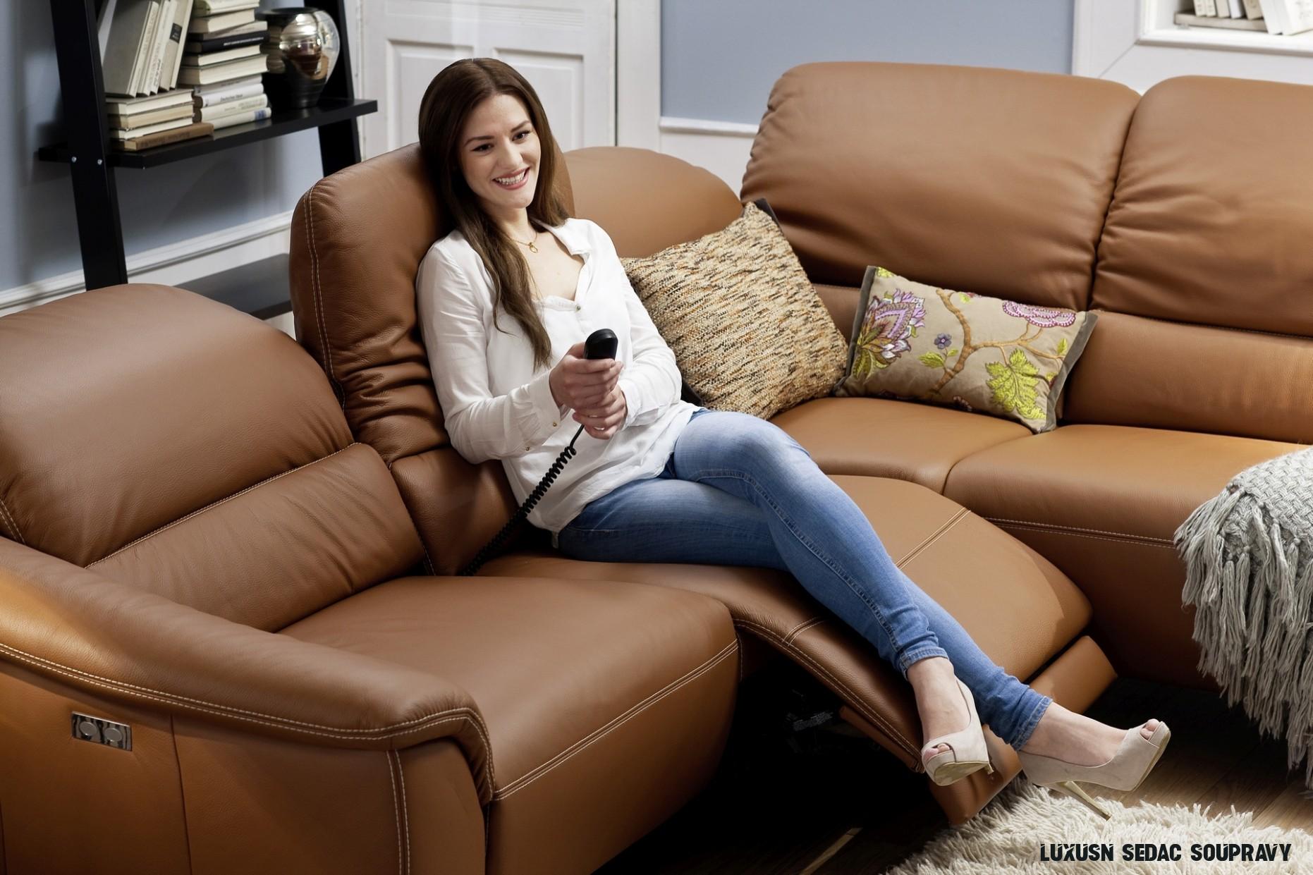 Luxusní sedací soupravy - TORRIMEX Moderní nábytek