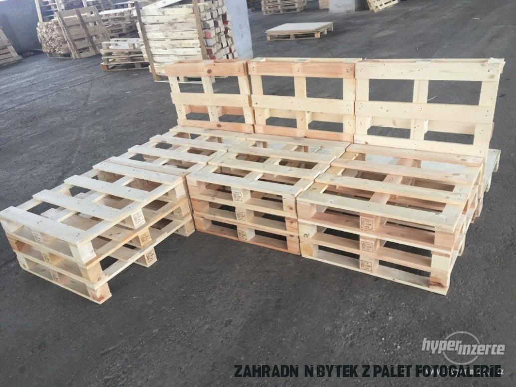 Zahradní nábytek z palet - dřevěné palety - bazar - Hyperinzerce.cz