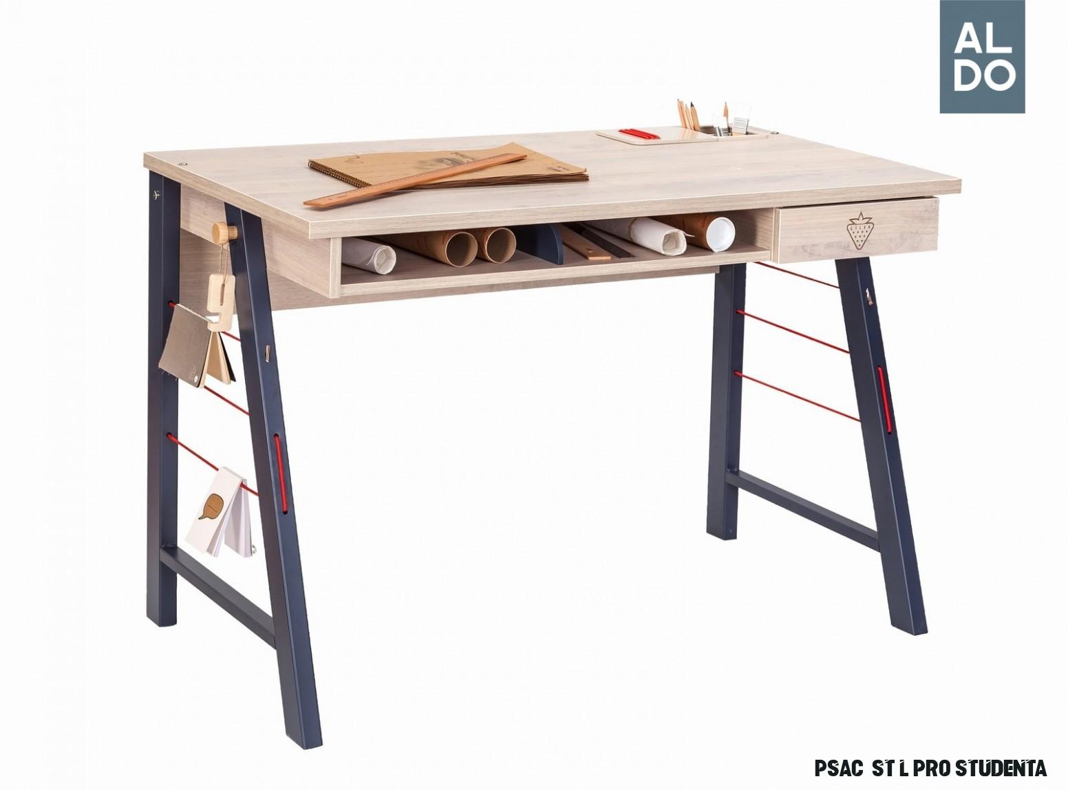 Psací stůl pro studenta Trio