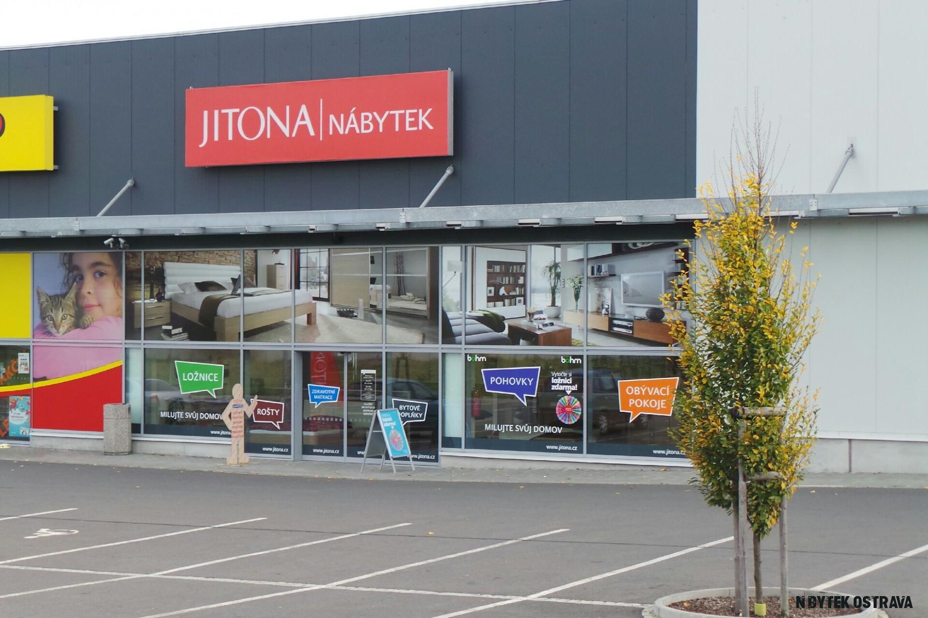 JITONA nábytek (Ostrava, Třebovice), IČO 12, telefon, adresa