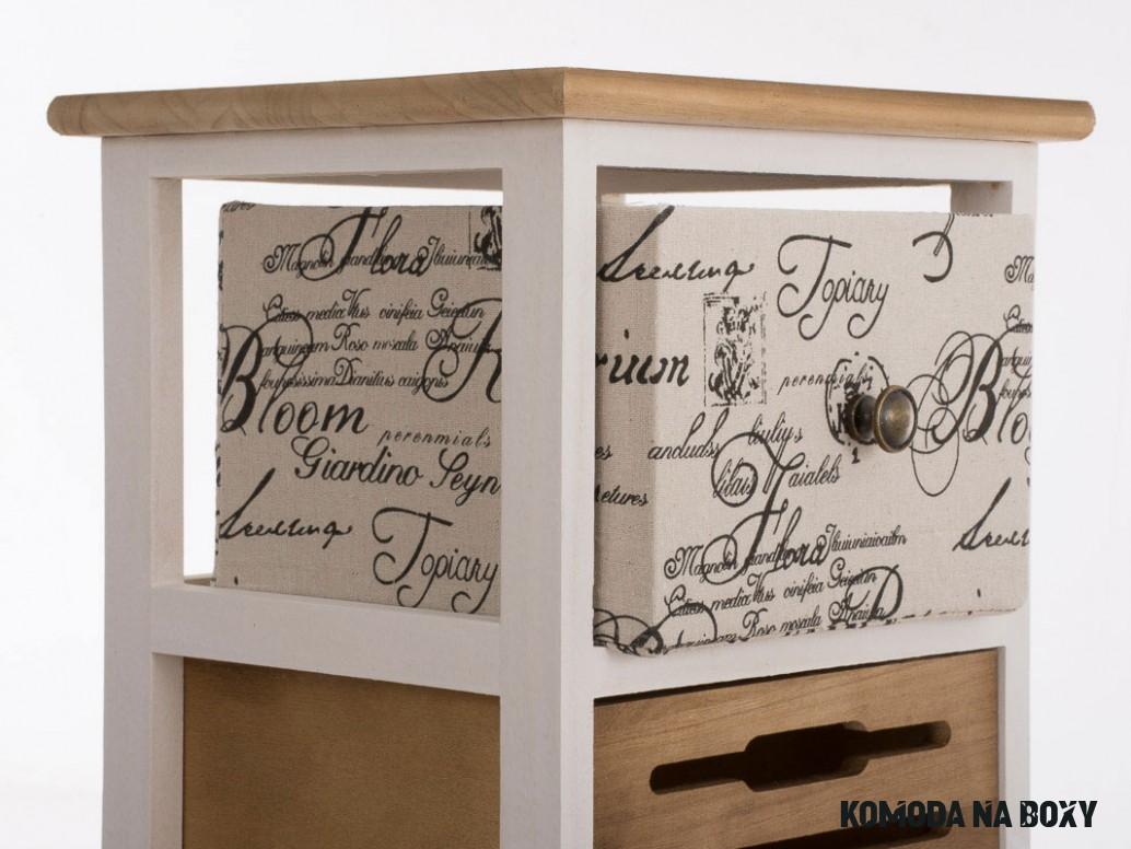Dřevěná komoda se zásuvkami Pige  DESIGN DISCOUNT