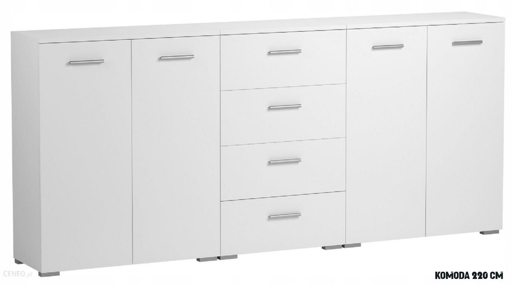 Komoda 10 cm Biały kolekcja meble 10k - Opinie i atrakcyjne ceny na Ceneo.pl