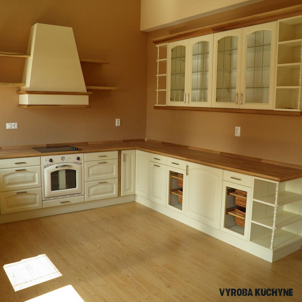Kuchyne z masívu - Výroba nábytku z masívu - Vybal.sk