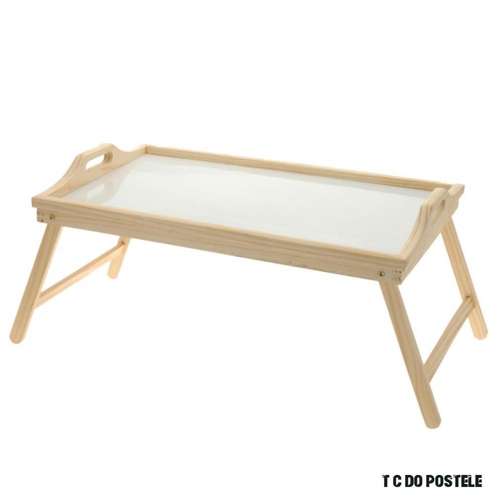 ORION Dřevěný podnos do postele 10 x 10 cm - domacipotreby.cz