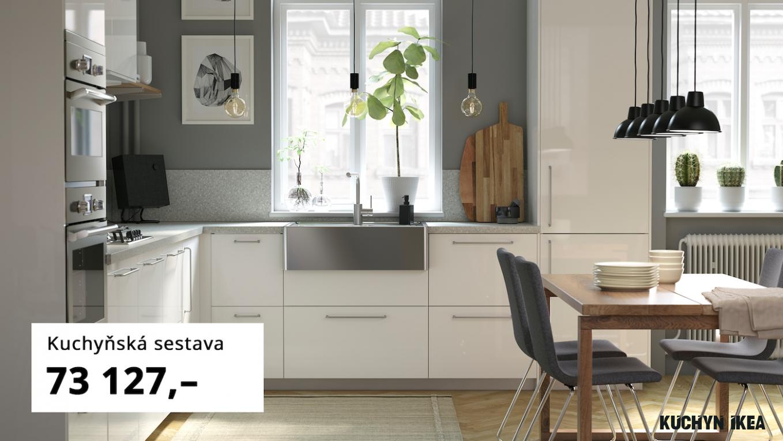 Moderní a prostorná kuchyně - IKEA