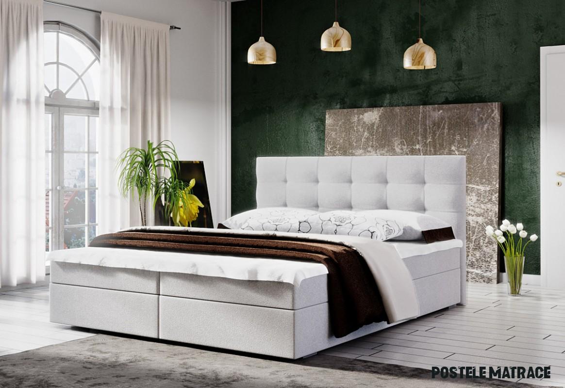 Čalúnená posteľ LAKE 12 + matraca