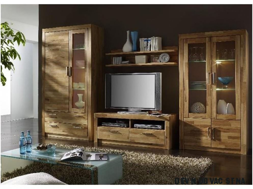 Dřevěné obývací stěny  Masiv-Prodej.cz - Německá kvalita za