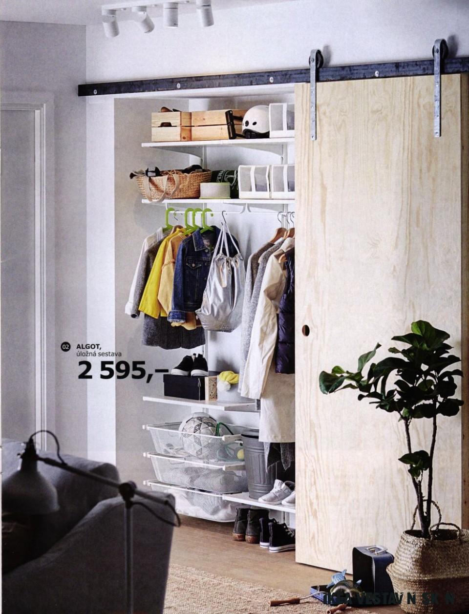 pax, šatní skříň rámy: vnitřní vybaveni: celková cena šatní skříně