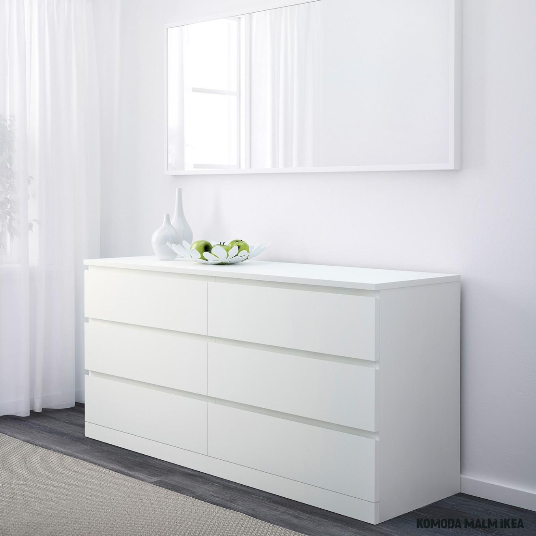 "MALM 19-drawer dresser - white 1919x19 19/19 """