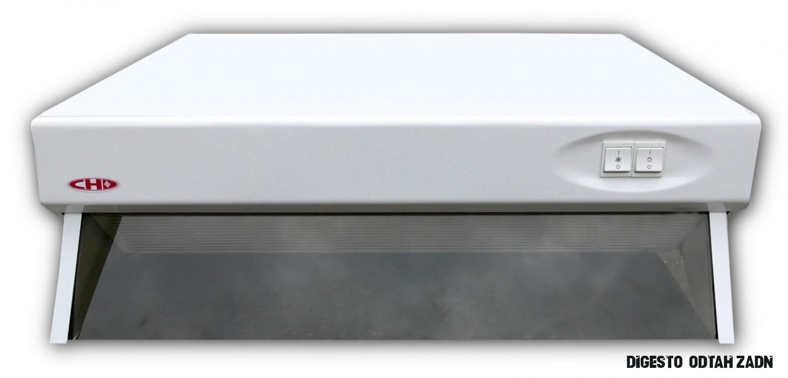Odsavač par CH 14 bílý, 14cm, odtah zadní