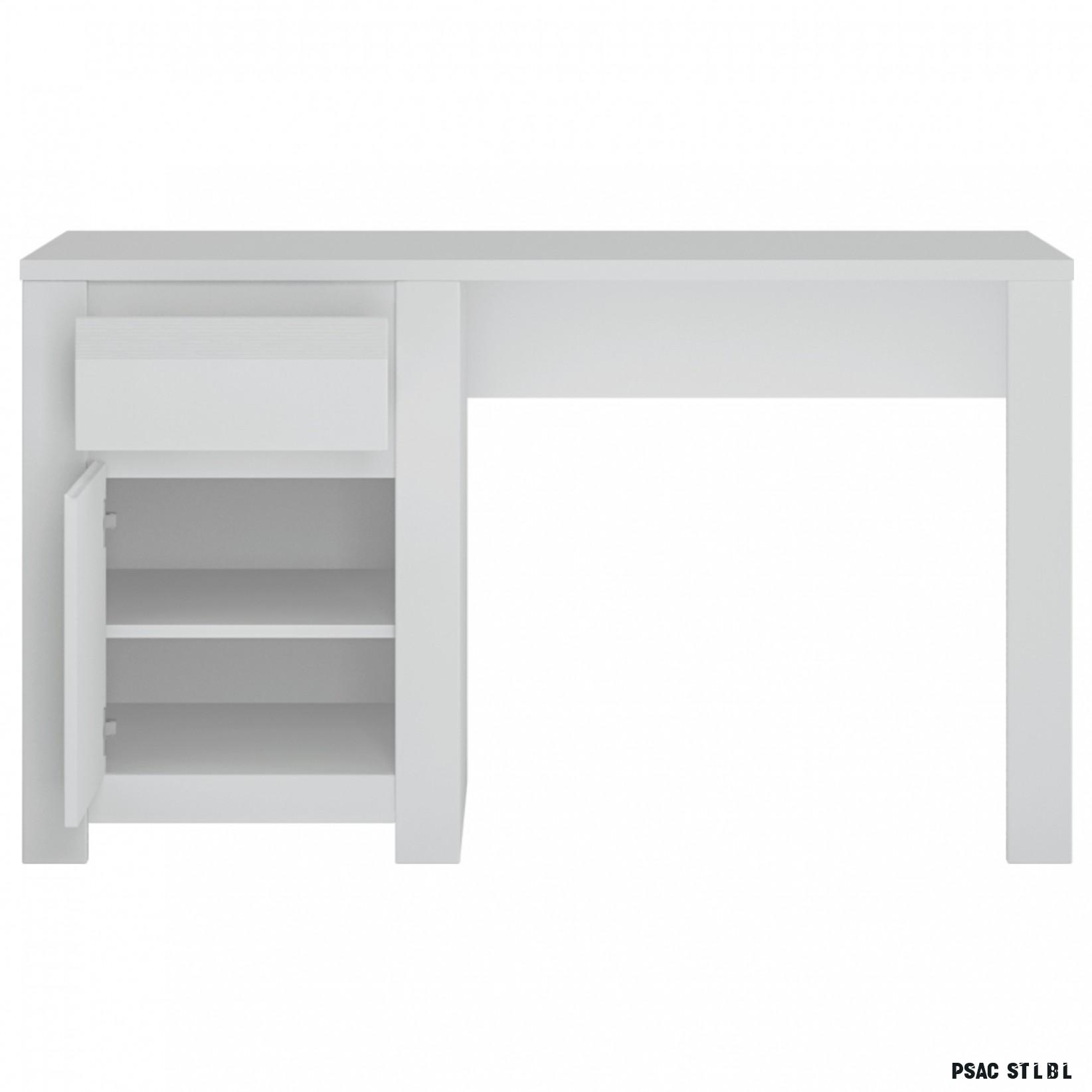 Psací stůl NOVI bílá  Sconto