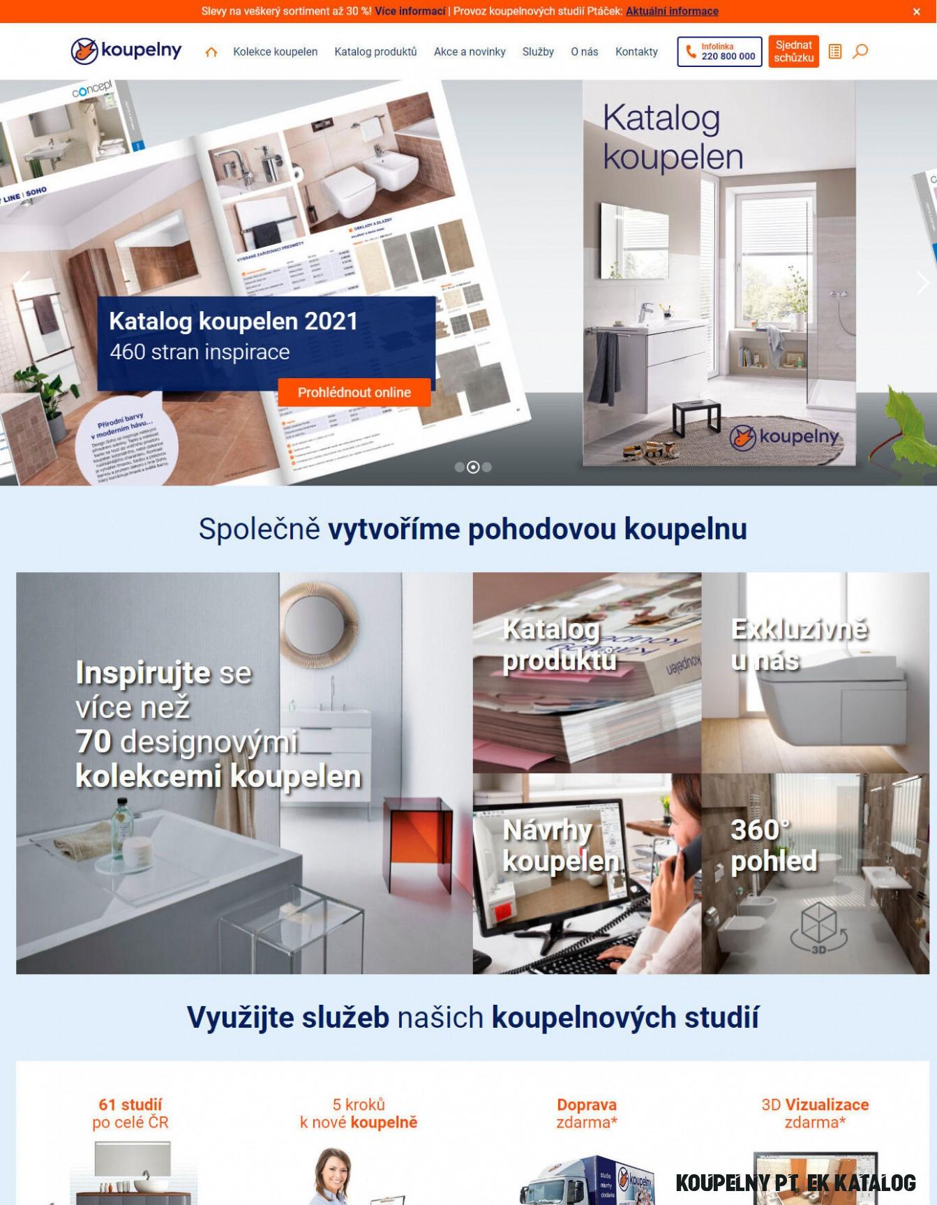 Katalog KOUPELNY Ptáček od 20.20.