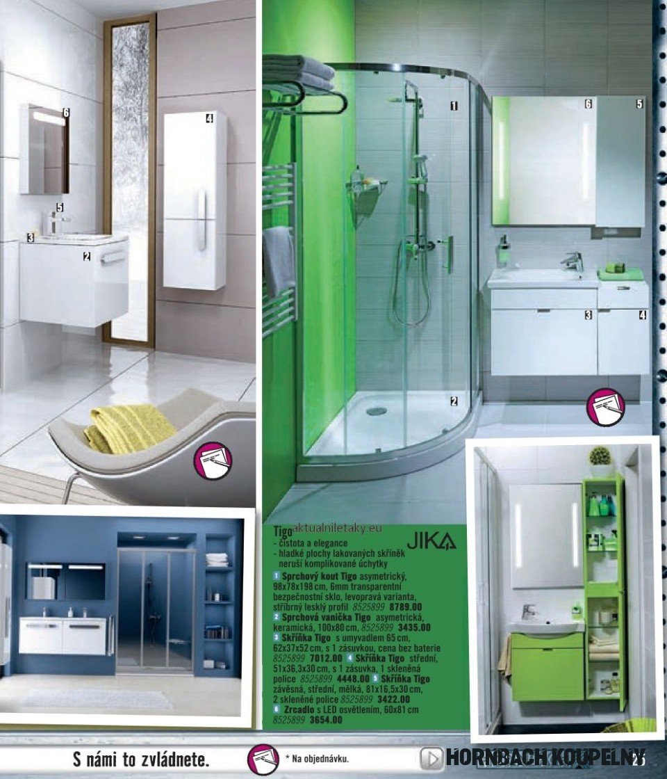 Hornbach koupelny katalog strana 8 Hornbach