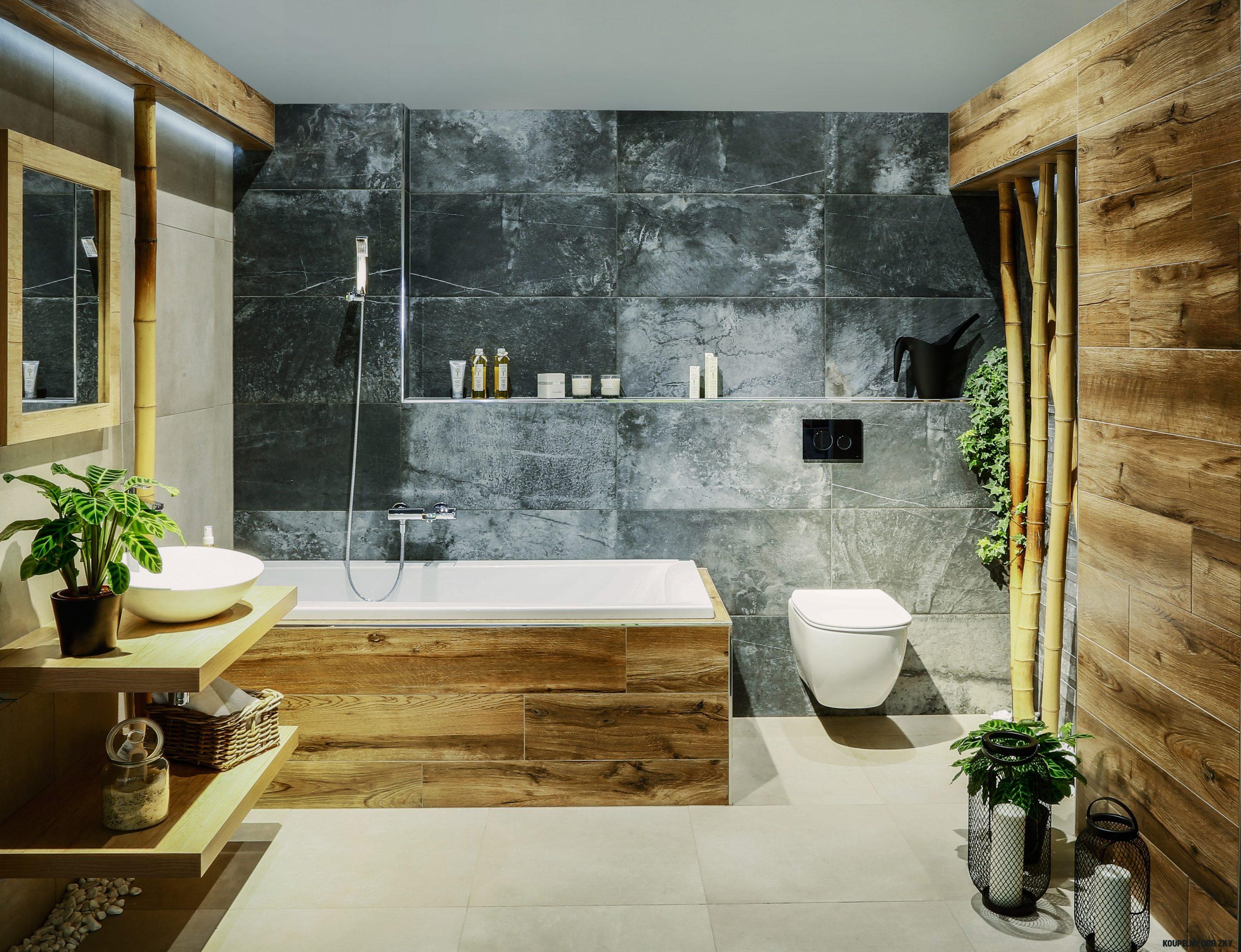 Roar rastezanje Delegacija koupelny rustikální styl