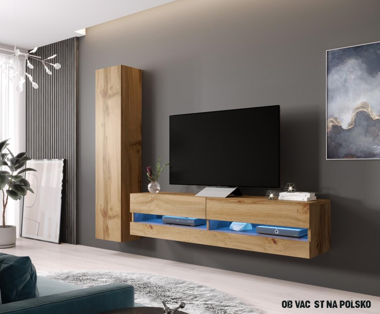 Obývací stěna VIGO NEW 17F dub wotan