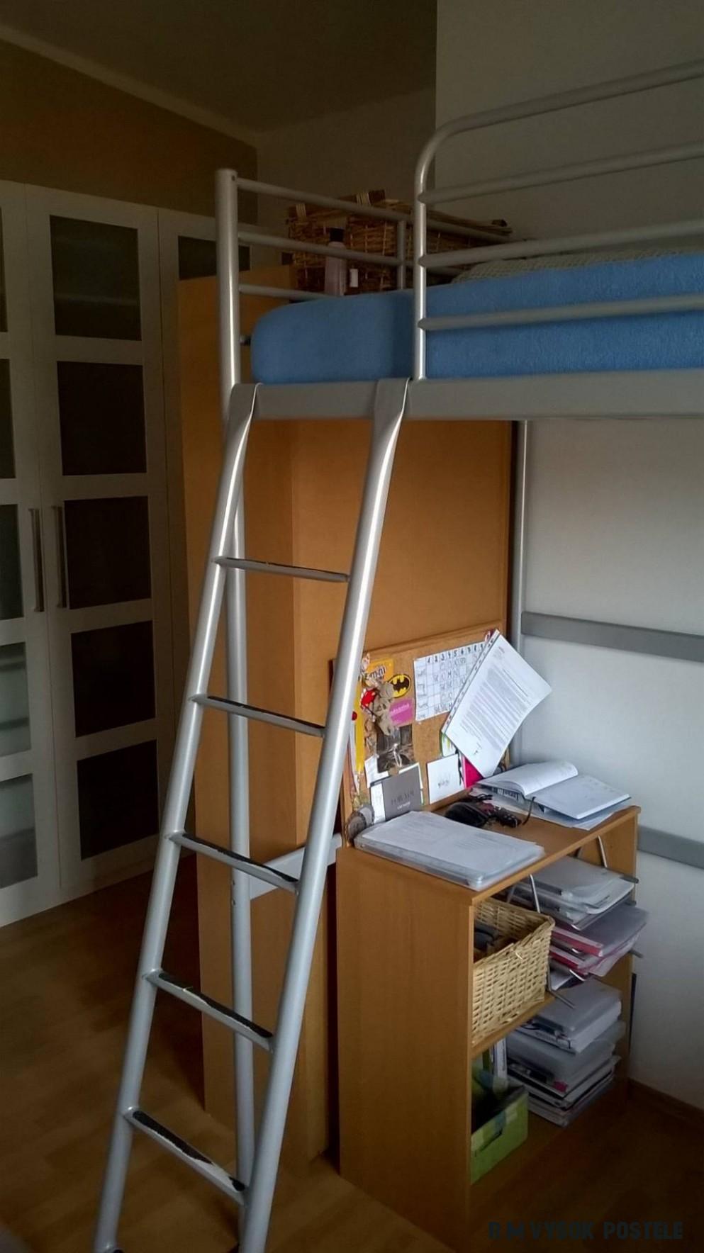 Daruji za odvoz svärta > rám vysoké postele + matrace - za odvoz
