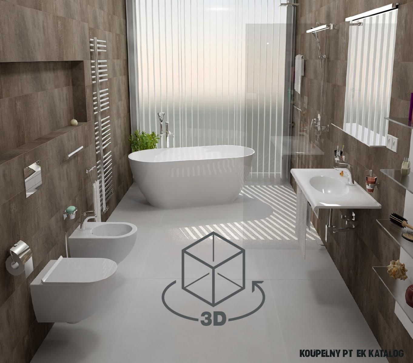 Koupelny Ptáček - kolekce koupelen, koupelny na míru
