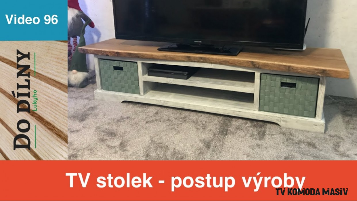Komoda masiv / chest of drawers - YouTube