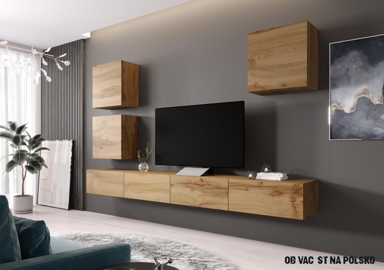 Obývací stěna VIGO 17F dub wotan