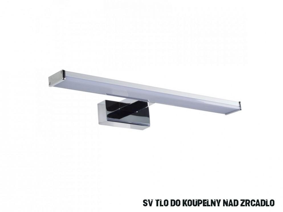 Nástěnné LED svítidlo nad zrcadlo 16cm 16W 616lm 1600K IP16 16V - chrom