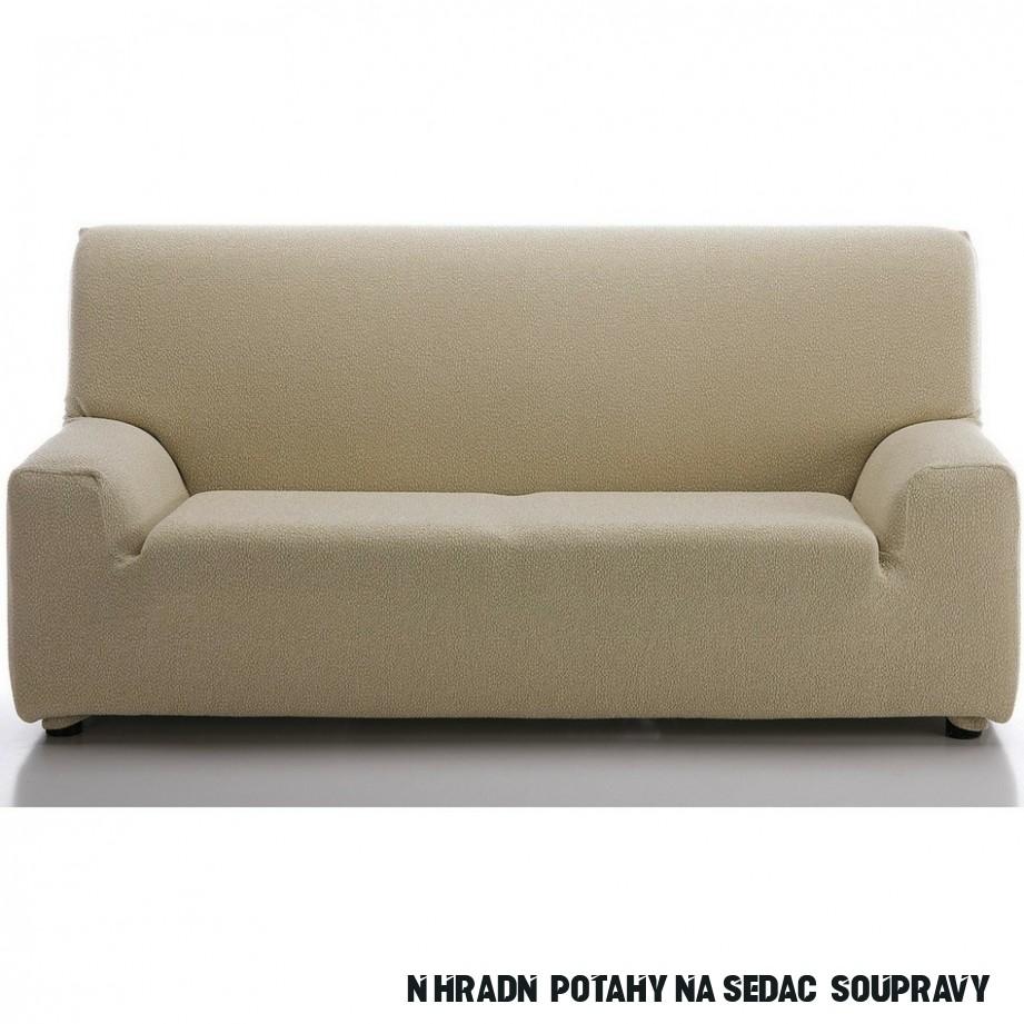 Multielastický potah na sedací soupravu Petra béžová, 10 - 10 cm
