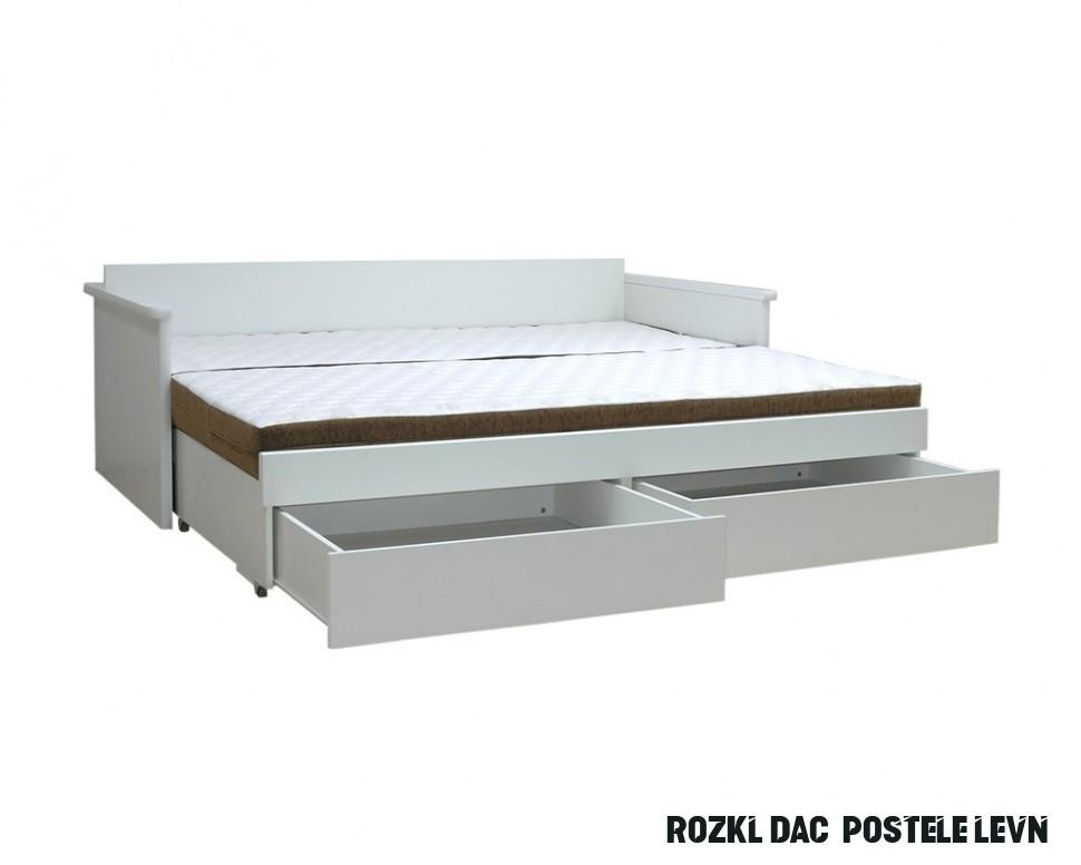 Zaokrúhlite nadol zúžiť sankcionovať postel 17x17 rozkládací