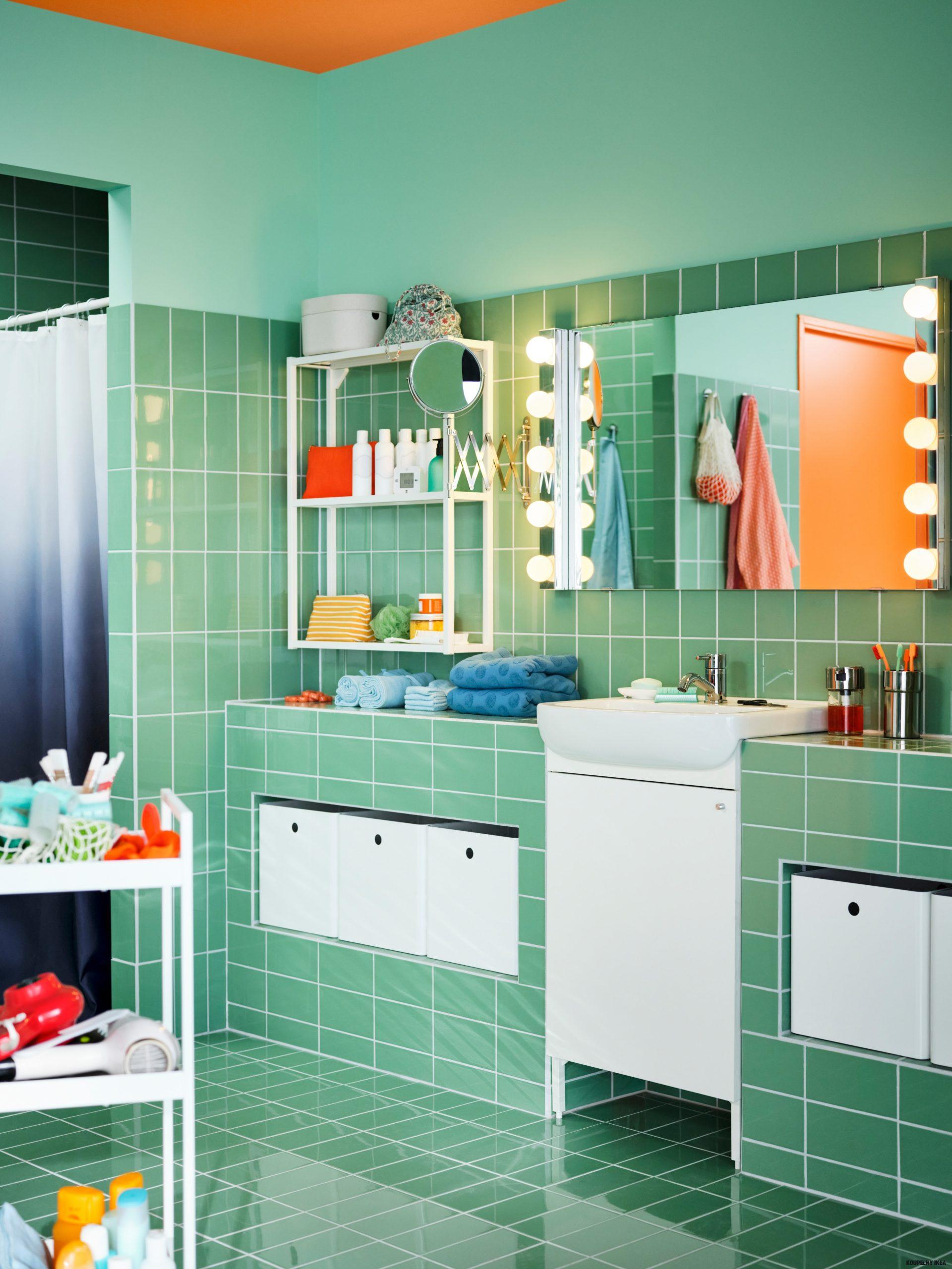 Ideální řešení pro malé koupelny - IKEA
