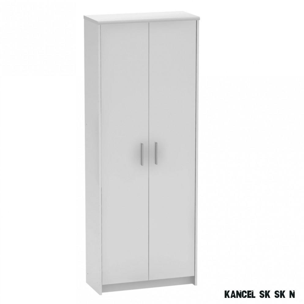Kancelářská skříň Johan 17 New 17, bílá - Kancelářské skříně a