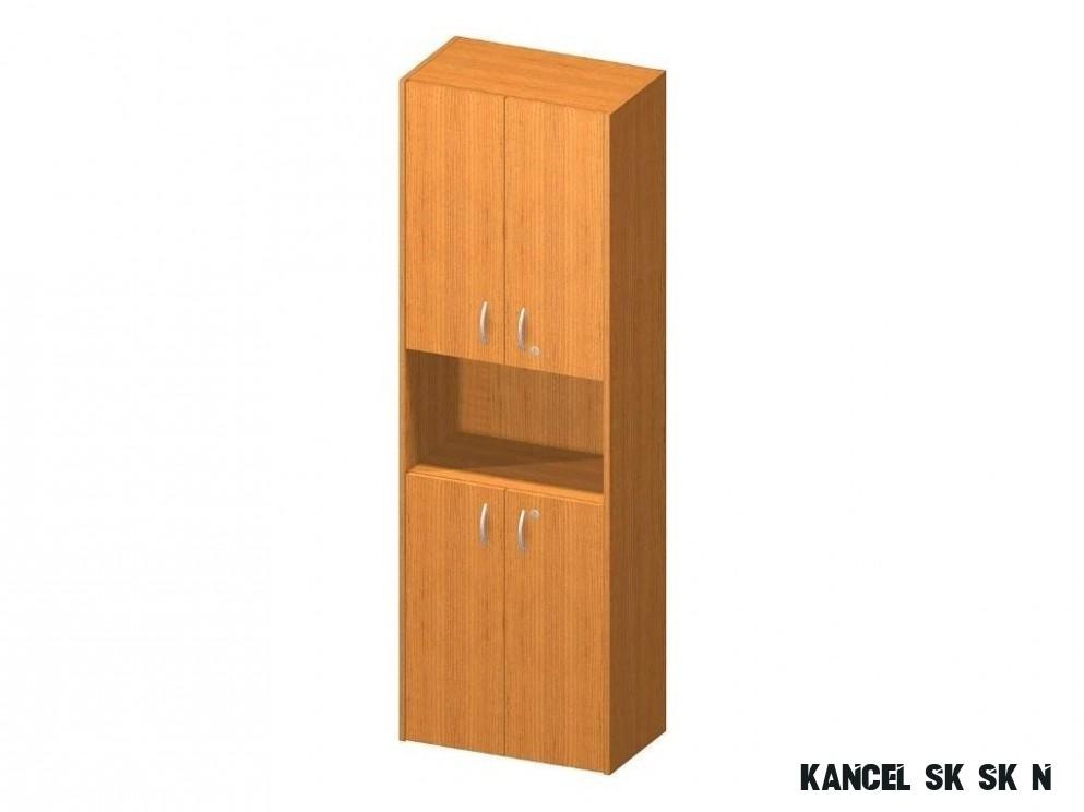 Kancelářská skříň, třešeň, TEMPO AS NEW 17