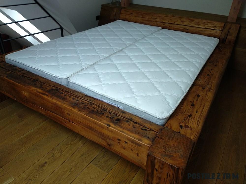 postel ze starých trámů 6