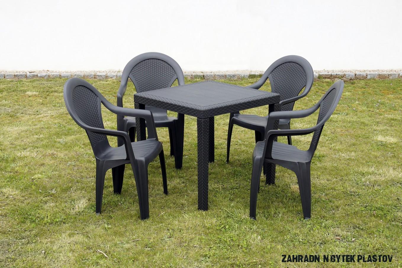 منبسط فائدة القياس plastový zahradní nábytek set - isa