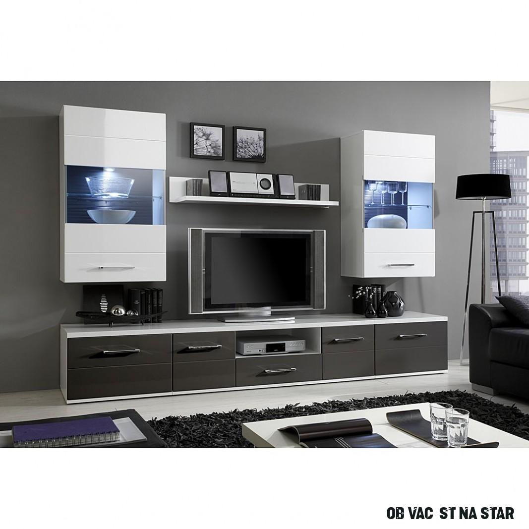 Obývací stěna Glossy star II. - M-IY-5