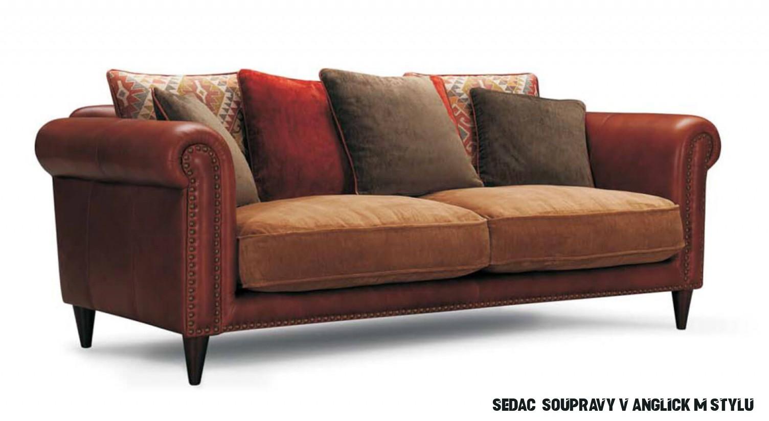 Stylová kožená sedací souprava Carelli 18  Carelli  Designové